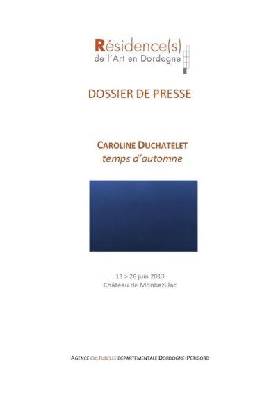 2013 DP Agence Culturelle C Duchatelet photo