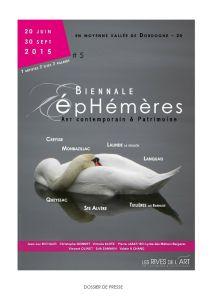 2015 EPHEMERES #5 Dossier De Presse