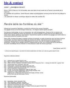 bibliographie de Daniel BOURSIN