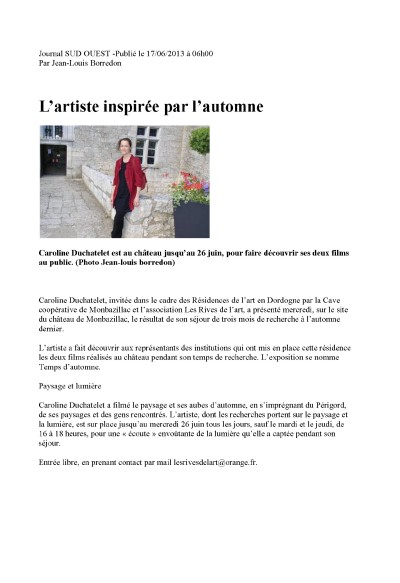sud ouest 17 06 2013