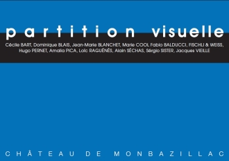 """2015 Exposition """"Partition Visuelle"""", Frac Aquitaine"""