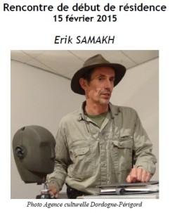 2015 Résidence Erik SAMAKH