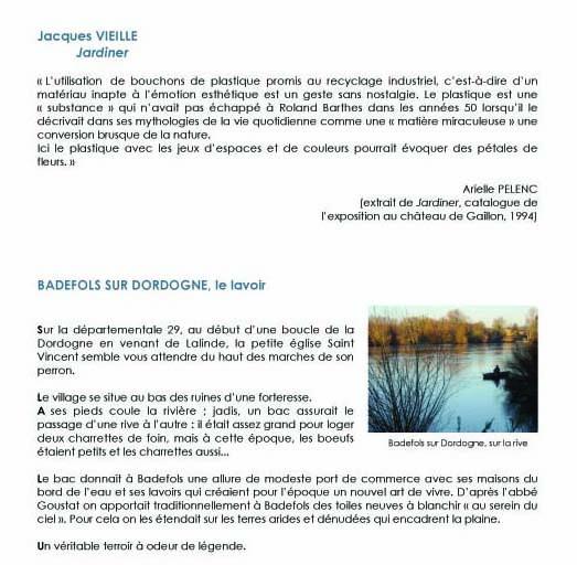 Dossier de presse Jacques VIEILLE
