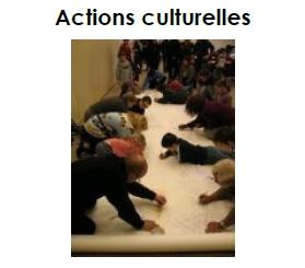 Page Accueil Les Actions Culturelles