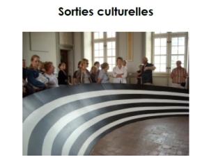 Page Accueil Les Sorties culturelles