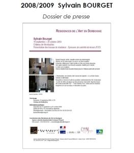 2008-2009 DP Résidence Sylvain BOURGET