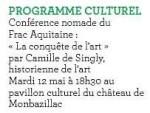 2015 Conférence nomade Frac Aquitaine :