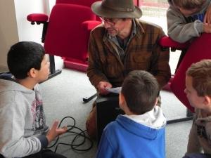 2015 Erik SAMAKH et les écoliers de Monbazillac