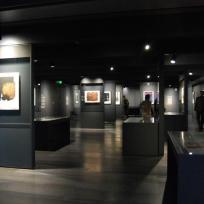 Galerie de l'oeuvre imprimée de Pierre Soulages ; musée Soulages de Rodez ; photo © Julie Lourgant