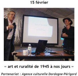 2015 Conférence art et ruralité, Pierre Paliard