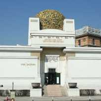 """Autriche, palais de la """"Sécession viennoise""""deJosef Maria Olbrich, espace d'exposition créé à Vienne en 1897"""