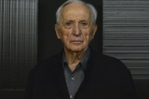 Pierre Soulages ; photographie Doryan Bayol, 30 mai 2014