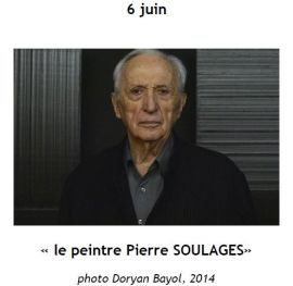 2015 Conference Pierre SOULAGES J Lourgant