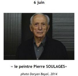2015 Conference Pierre SOULAGES J Lourgant