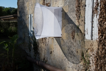 "2015 EPHEMERES #5; ""Corridor"" de jean-Luc BICHAUD, photo Alain VERGEZ"