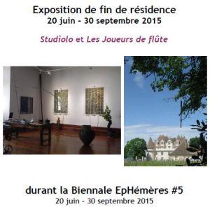 2015 Expo fin de Résidence EpHemeres #5 Erik Samakh