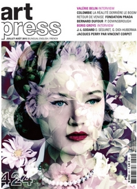 2015 Ephemeres artpress magazine 424 couverture