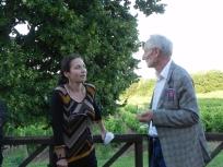 Victoria KLOTZ ( EPHEMERES 2015) et Jacques Vieille (EPHEMERES 2009)