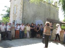 Mme Wolff, présidente de l'association Les Rives de l'Art présente CORRIDOR