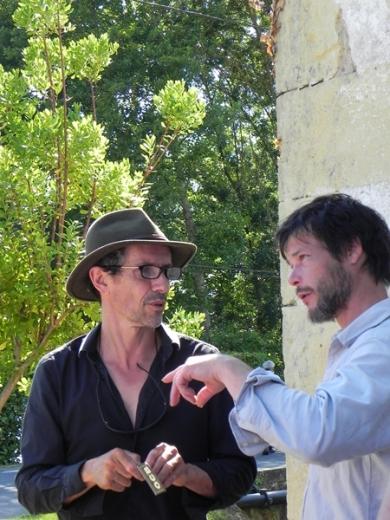 Erik SAMAKH EPHEMERES 2015) et Benoît SCHMELTZ (EPHEMERES 2013)