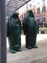 les pingouins de Xavier VEILHAN