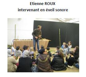 2015 Etienne ROUX atelier sonore