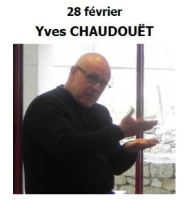 2016 1O1H1A Rencontre avec Yves CHAUDOUET