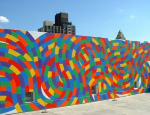 "2016 Conférence ""murs peints"" Sol LeWitt Wall 2"