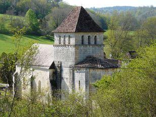 église Saint Pierre ès Liens à Queyssac