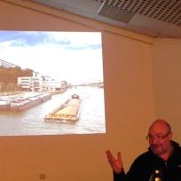"""Christian Pallatier, historien de l'art ; """"conférence la renaissance des murs peints"""""""