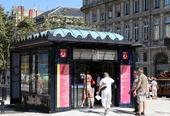 Kiosque Bordeaux Culture, Allées Tourny, Bordeaux