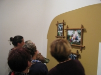 Visite de l'exposition KARAVAN, Chantal RAGUET, Espace culturel François Mitterrand, Périgueux, 2016