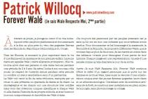 """expo """"Forever WALE"""" Patrick WILLOCQ, dans l'espace St REMI, texte extrait du Dossier de presse-Agence Révélateur, 26e ITINÉRAIRES DES PHOTOGRAPHES VOYAGEURS BORDEAUX 2016"""