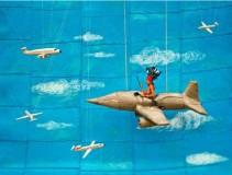 """expo """"Forever WALE"""" Patrick WILLOCQ, dans l'espace St REMI, photo extraite du Dossier de presse-Agence Révélateur, 26e ITINÉRAIRES DES PHOTOGRAPHES VOYAGEURS BORDEAUX 2016"""