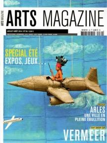 2014 Arts magazine couverture juillet août Patrick WILLOCQ Arles