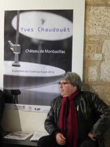 2016 Bernard LUBAT, Château de Monbazillac, 2 avril, vernissage expo Yves CHAUDOUËT ; ©LRA