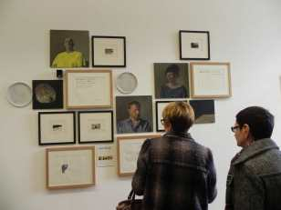 2016 portraits, monotypes..., Yves CHAUDOUET ; exposition Château de Monbazillac ; © Les Rives de l'Art