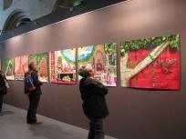 """expo """"Forever Walé"""" Patrick WILLOCQ, espace St Rémi Bordeaux 2016 ; photo LRA"""
