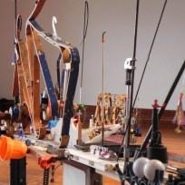 épHémères-entrActe 2016 Exposition Jeroen FRATEUR, détails, Château de Monbazillac ; photo Les Rives de l'Art