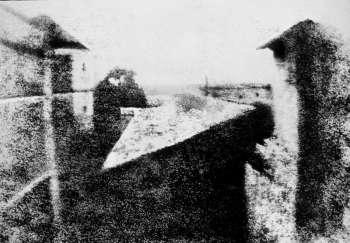 Point de vue du Gras_Joseph Nicephore Niepce_1826