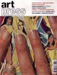 2016 ART PRESS N° 435 couverture