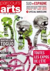 2016 PARCOURS DES ARTS N° 7057 couverture