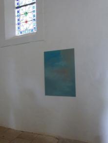 oeuvre de Alain Sicard au Sourn dans la chapelle St Jean