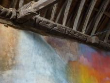 oeuvre de Flora Moscovici, la chapelle de la Trinité