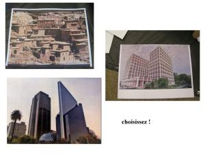 """atelier """"un paysage urbain"""" à choisir ou à inventer"""