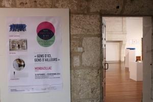 """2016 20 ans de résidences d'artistes en Dordogne ; exposition """"Gens d'ici, gens d'ailleurs"""" au château de Monbazillac©Florent Lamouroux"""