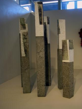 installation, Daniel Caralp, porcelaine