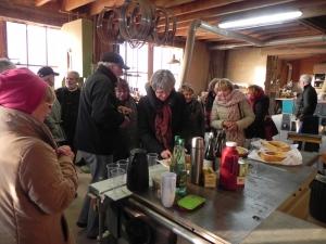 2017 fête de l'art le 17 janvier, chez Jean-François Noble