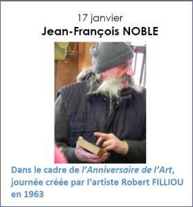 2017 Rencontre avec Jean-François Noble - Anniversaire de l'Art