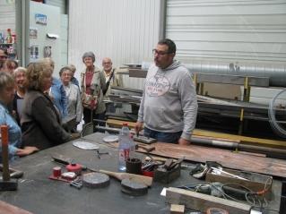 Atelier cuivre pour les éléments composites